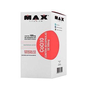 CoQ10 Coenzima Q10 - 60 Cápsulas - Max Titanium