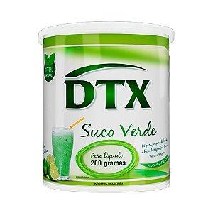 DTX Suco Verde Limão - 200 Gramas - Promel