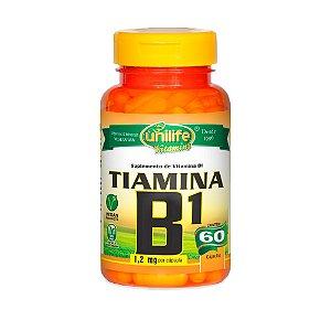 Vitamina B1 Tiamina - 60 Cápsulas - Unilife
