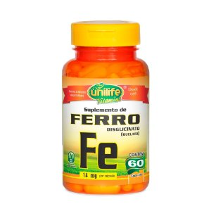 Ferro - 60 Cápsulas - Unilife