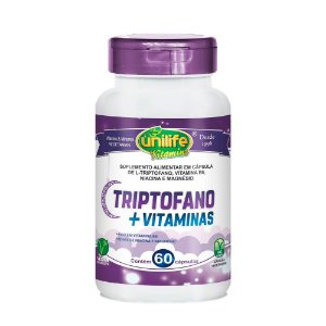 Triptofano com Vitaminas - 60 Cápsulas - Unilife