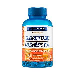 Cloreto de Magnésio P.A. - 100 Comprimidos - Catarinense