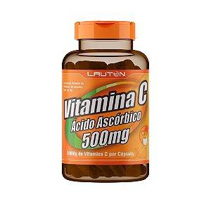 Vitamina C 500mg - 60 Cápsulas - Lauton