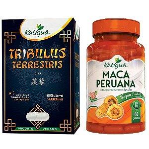 Tribulus Terrestris + Maca Peruana - 60 cápsulas - Katigua