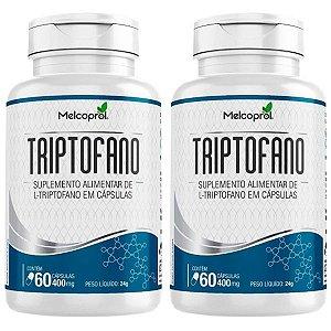 Triptofano - 2 unidades de 60 Cápsulas - Melcoprol