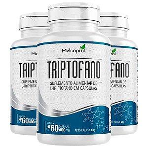Triptofano - 3 unidades de 60 Cápsulas - Melcoprol