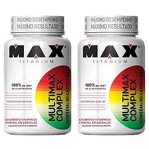 Multimax Complex - 2 unidades de 90 Cápsulas - Max Titanium