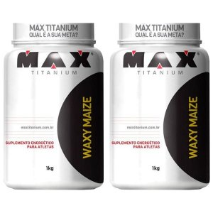Waxy Maize - 2 unidades de 1 Kg - Max Titanium