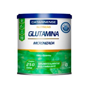 Glutamina Micronizada - 250 Gramas - Catarinense