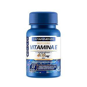 Vitamina E 400 UI - 30 Cápsulas - Catarinense