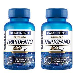 Triptofano - 2 unidades de 60 Cápsulas - Catarinense