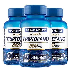 Triptofano - 3 unidades de 60 Cápsulas - Catarinense