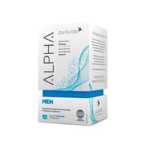 Polivitamínico Alpha Men - 60 Cápsulas - Puravida