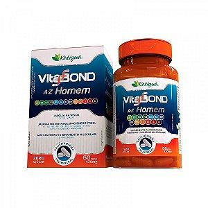 Polivitamínico Vitabond A-Z Homem - 60 Cápsulas - Katigua