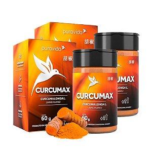 Curcumax - 2 unidades de 60 Gramas - Puravida