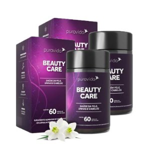 Beauty Care - 2 unidades de 60 Cápsulas - Puravida