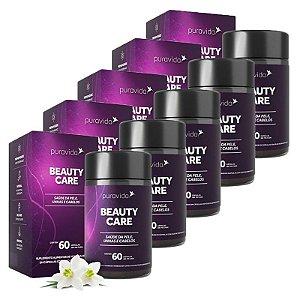 Beauty Care - 5 unidades de 60 Cápsulas - Puravida