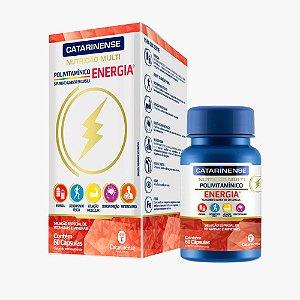 Polivitamínico Energia - 60 Cápsulas - Catarinense