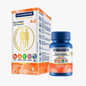 Polivitamínico A-Z - 60 Cápsulas - Catarinense