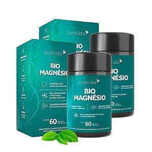 Bio Magnésio - 2 unidades de 60 Cápsulas - Puravida