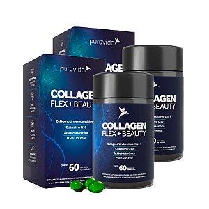 Collagen Flex + Beauty - 2 unidades de 60 Cápsulas - Puravida