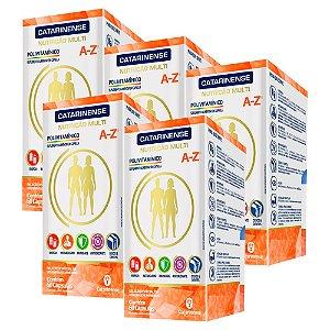 Polivitamínico A-Z - 5 unidades de 60 Cápsulas - Catarinense
