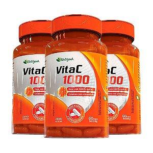Vitamina C 1000 IDR - 3 unidades de 60 Cápsulas - Katigua