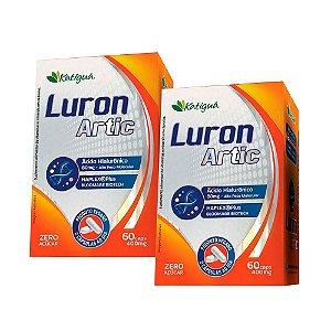 Luron Artic Ácido Hialurônico APM - 2 unidades de 60 Cápsulas - Katigua