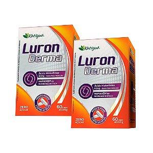 Luron Derma Ácido Hialurônico BPM - 2 unidades de 60 Cápsulas - Katigua
