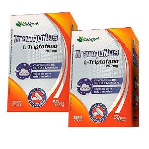 Tranquilus L-Triptofano - 2 unidades de 60 Cápsulas - Katigua