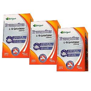 Tranquilus L-Triptofano - 3 unidades de 60 Cápsulas - Katigua