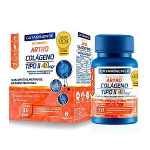Artro Colágeno Tipo II - 30 Cápsulas - Catarinense