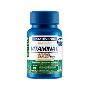 Vitamina C 1000mg - 30 Comprimidos - Catarinense