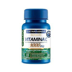 Vitamina C 1000mg Catarinense Antioxidante 30 Comprimidos
