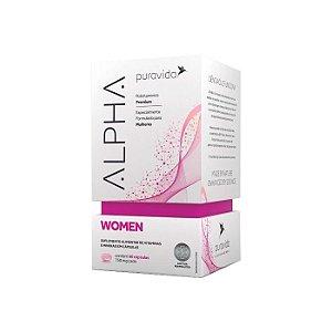 Alpha Women Polivitamínico Feminino Puravida 60 Cápsulas