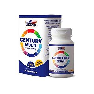 Polivitamínico Century Multi - 30 Comprimidos - VitGold