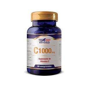 Vitamina C 1000mg - 60 Comprimidos - VitGold