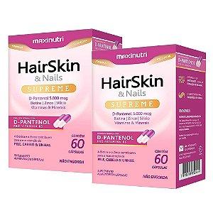 Hair Skin & Nails Supreme - 2 unidades de 60 Cápsulas - Maxinutri