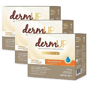 Colágeno Derm Up Supreme - 3 unidades de 30 Sachês de 5g - Maxinutri