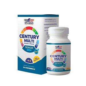 Multivitamínico Century Senior Homem - 30 Comprimidos - VitGold