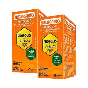 Melagrião Propolive - 2 unidades de 60 Cápsulas - Catarinense
