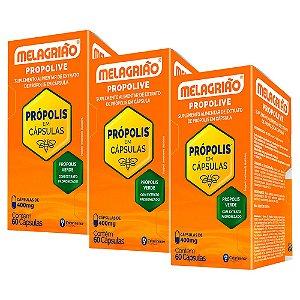 Melagrião Propolive - 3 unidades de 60 Cápsulas - Catarinense