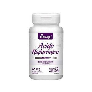 Ácido Hialurônico - 30 Cápsulas - Tiaraju