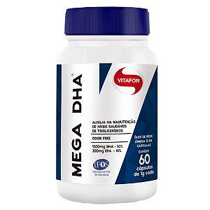 Mega DHA  1500mg Dha/300mg Epa - 60 cápsulas - Vitafor
