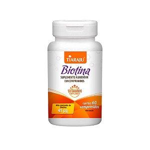 Biotina 45mcg - 60 Comprimidos - Tiaraju
