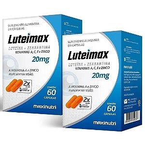 Luteimax Luteína & Zeaxantina - 2 unidades de 60 cápsulas - Maxinutri
