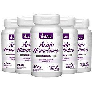 Ácido Hialurônico - 5 unidades de 30 Cápsulas - Tiaraju