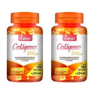Colágeno Verisol - 2 unidades de 100 Cápsulas - Tiaraju