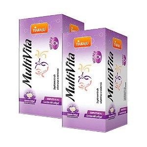 MultiVita Mulher - 2 unidades de 60 Cápsulas - Tiaraju