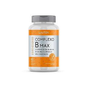 Complexo B Max - 60 Cápsulas - Lauton